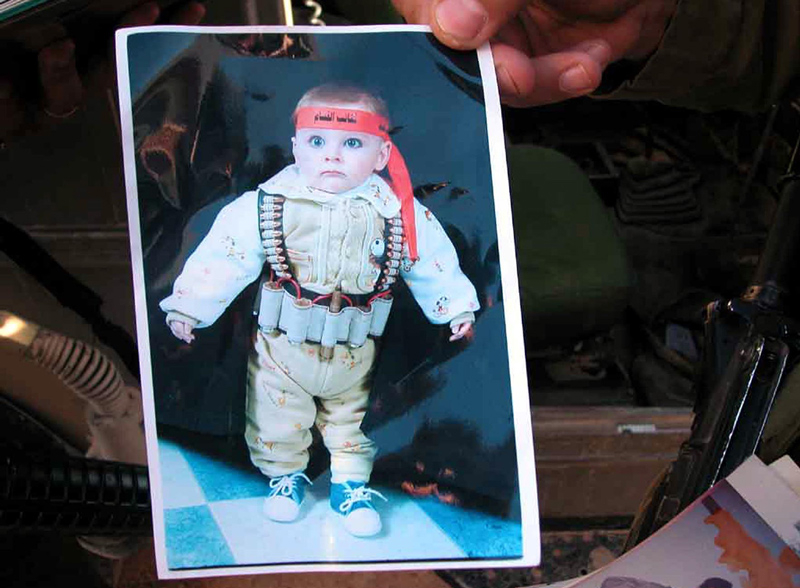 Image Source: IDF (via Gatestone), found in wanted terrorist's home in Hebron