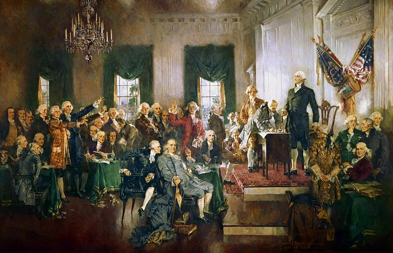 800px Scene at the Signing of the Constitution of the United States